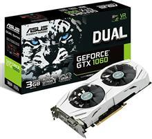 ASUS DUAL-GTX1060-3G GDDR5 Graphics Card